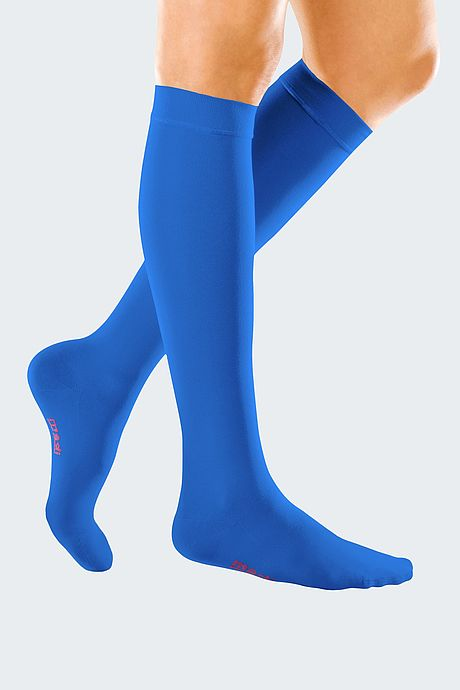 mediven forte compression stockings veanous treatment royal blue